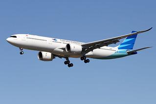 GARUDA  INDONESIA / Airbus   A 330-900   F-WWCD   msn 1959 / LFBO - TLS / juillet 2020