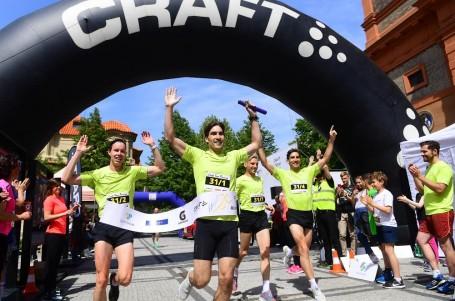 Výlet do Prahy? Týmový půlmaraton se poběží opět vparku na Portheimce