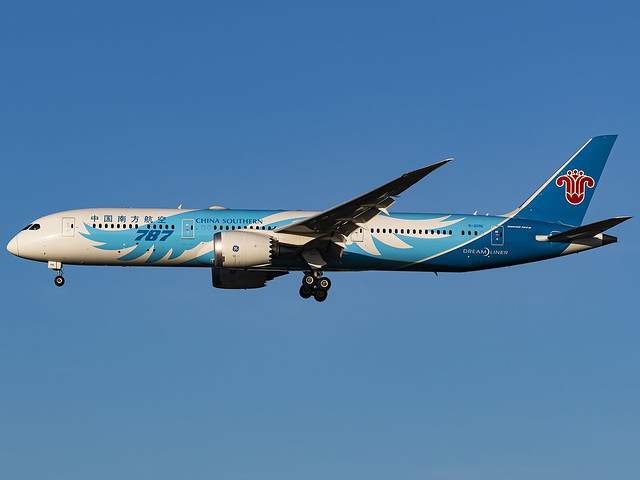 China Southern Airlines | Boeing 787-9 Dreamliner | B-209E