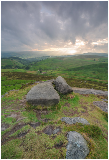 Higger Tor View.