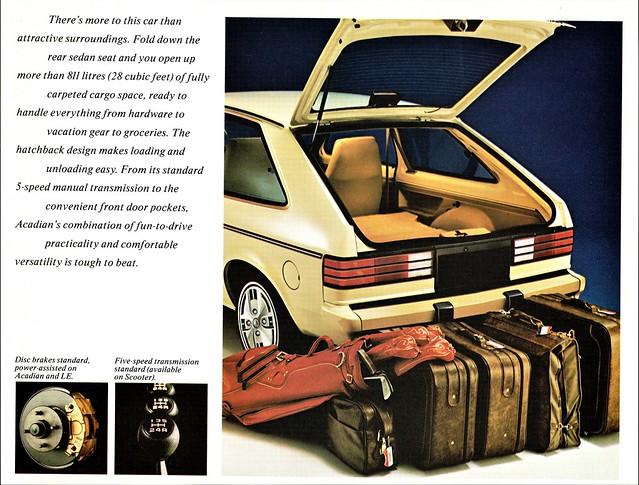 1986 Pontiac Acadian 3-Door Hatchback Coupe