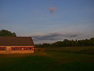 Evening down on the farm