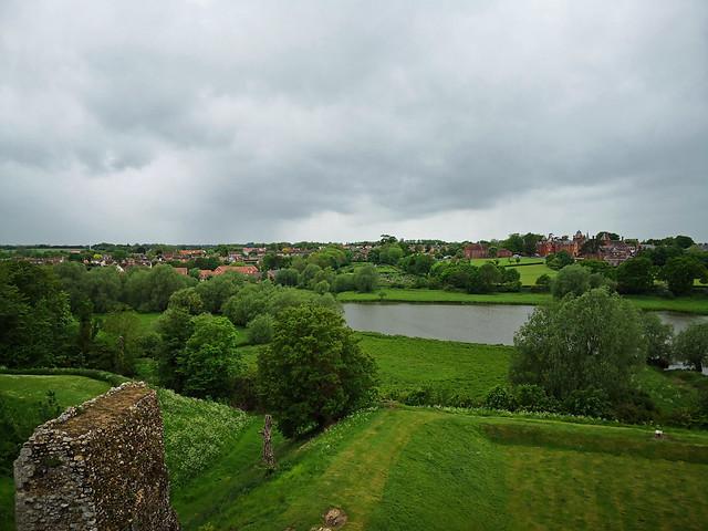 Framlingham Mere, from the Castle walls