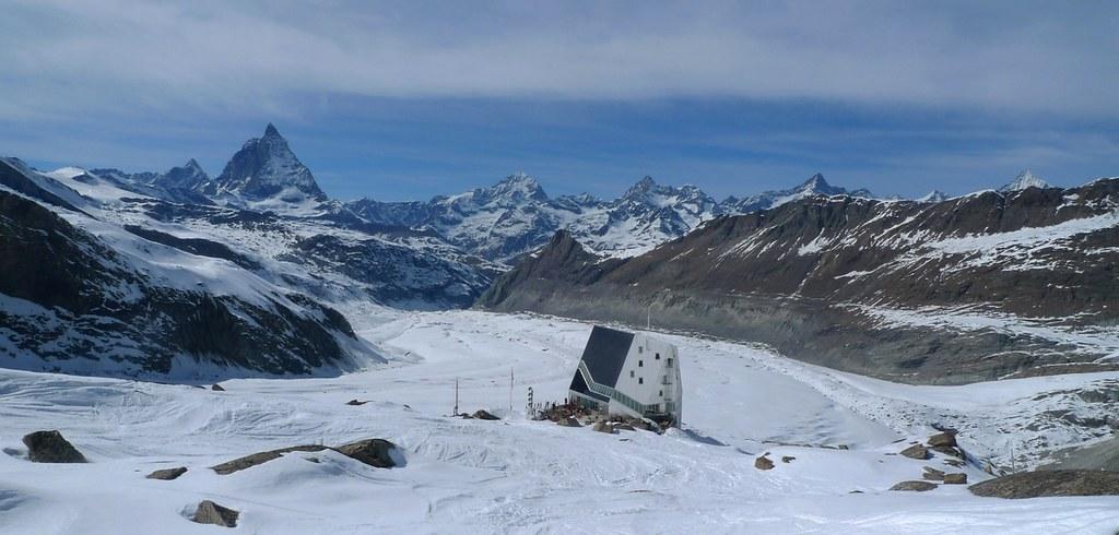 Dufourspitze / Punta Dufour - Monte Rosa Walliser Alpen / Alpes valaisannes Švýcarsko foto 13