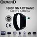 Orwind SMARTBAND+ 1080P Smart Band Rubber Bracelet Mini Camera Mini Video Recorder Hidden Portable DVR Cam