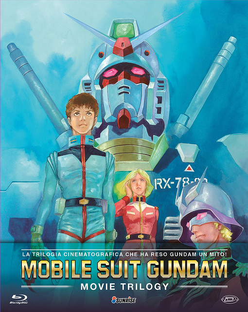 Mobile Suit Z Gundam - The Movies Collection Blu-Ray