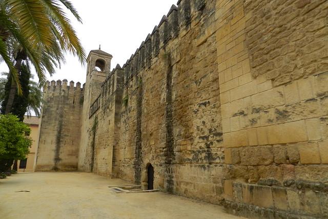 Torre del Homenaje exterior muralla norte del Alcázar de los Reyes Cristianos Cordoba