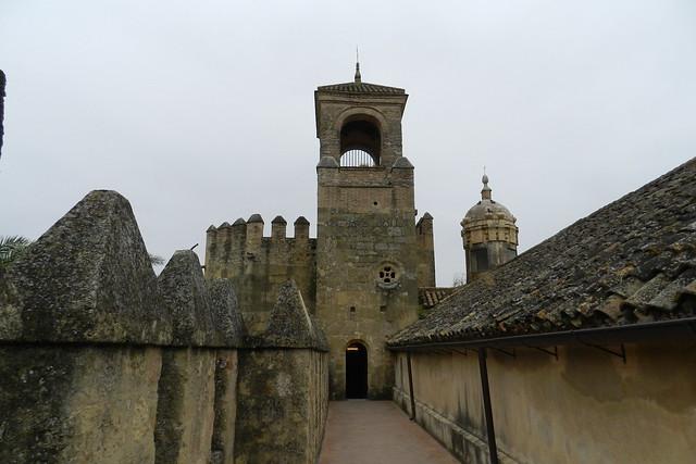 Torre del Homenaje adarve de muralla norte interior del Alcázar de los Reyes Cristianos Cordoba