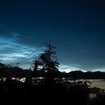 5. Juuli 2020 - 23:01 - Leuchtende Nachtwolken am 6. Juli 2020 23:00 Uhr