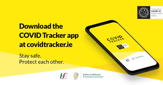HSE Covid Tracker App