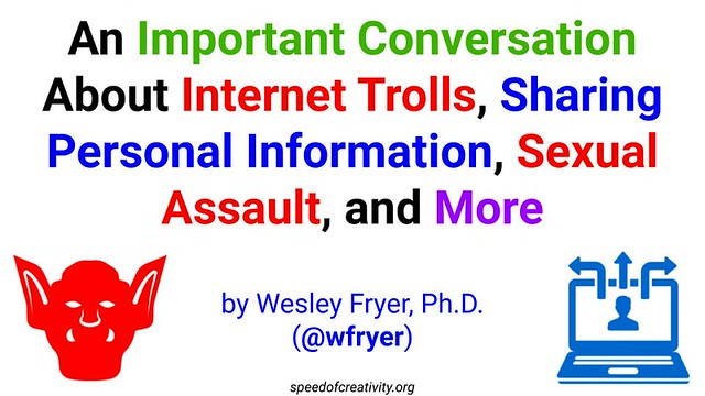 An Important Conversation About Internet Trolls, Sharing Personal Information, Sexual Assault, and More