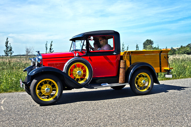 Ford Model A Pick-Up Truck 1930 (6001)