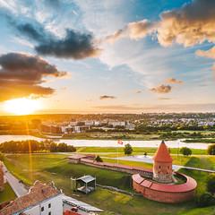 Castle | Kaunas aerial