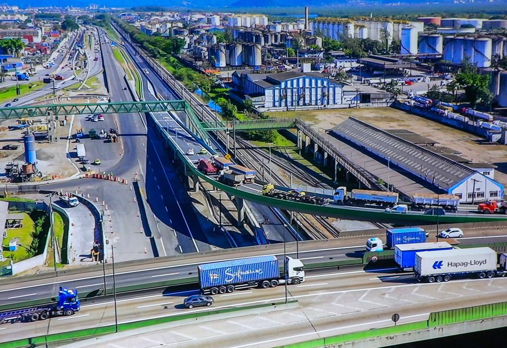 Entrega virtual do 2º viaduto para a Nova Entrada de Santos