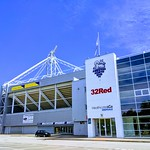 PNE Deepdale Stadium in Preston