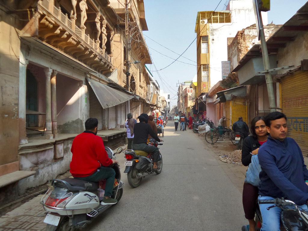 Pusat Kota Vrindhavan