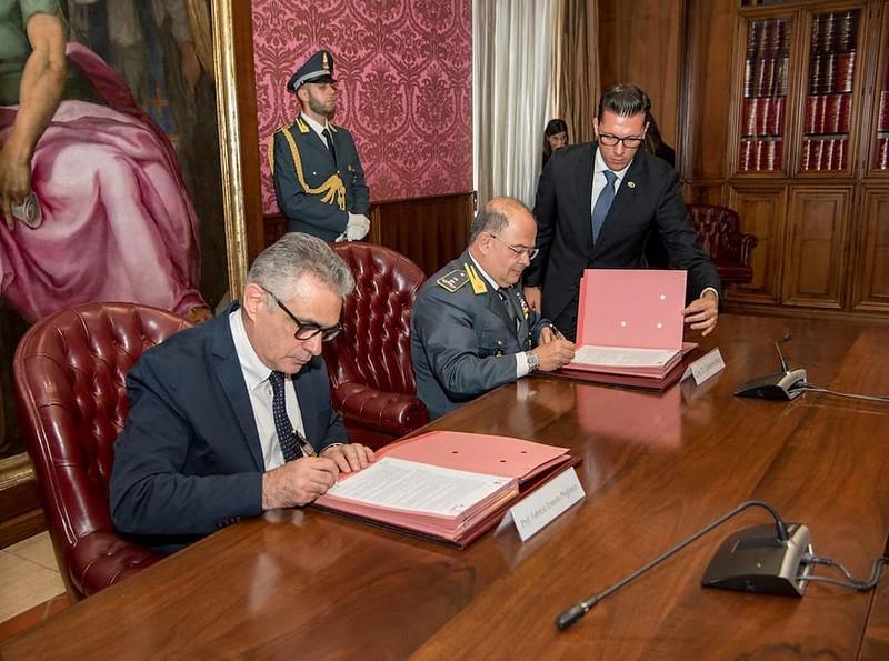 GdF e Anpas firmano un protocollo di intesa