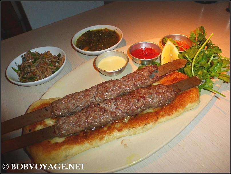 קבב פרסי ב- מסעדת אריא (aria)