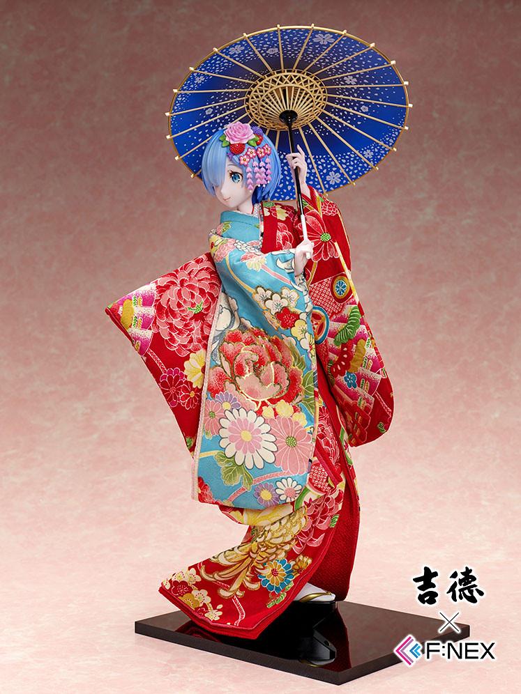 【F:NEX限定・完全預約生產】吉德×F:NEX《Re:從零開始的異世界生活》雷姆 -日本人偶- 1/4比例模型(レム -日本人形- 1/4スケールフィギュア)