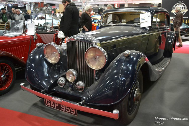 Bentley 4.25 Litres Gurney Nuttting Pillarless Coupé 1936