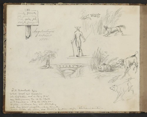 Landgoed Angerenstein, J. Tavenraat 1833