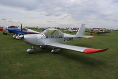 G-CBMZ Evektor EV-97 [2001-1136] Sywell 300819