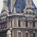 Louvre : une nymphe devant le pavillon de Marsan