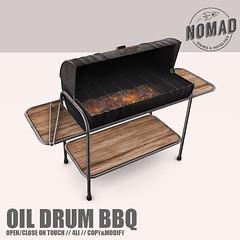 NOMAD // Oil Drum BBQ @ C88