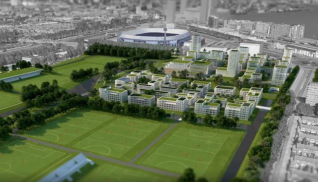 Sportcampus stedenbouwkundig plan 1