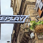 New Replay abr sign goes up on Fishergate, Preston