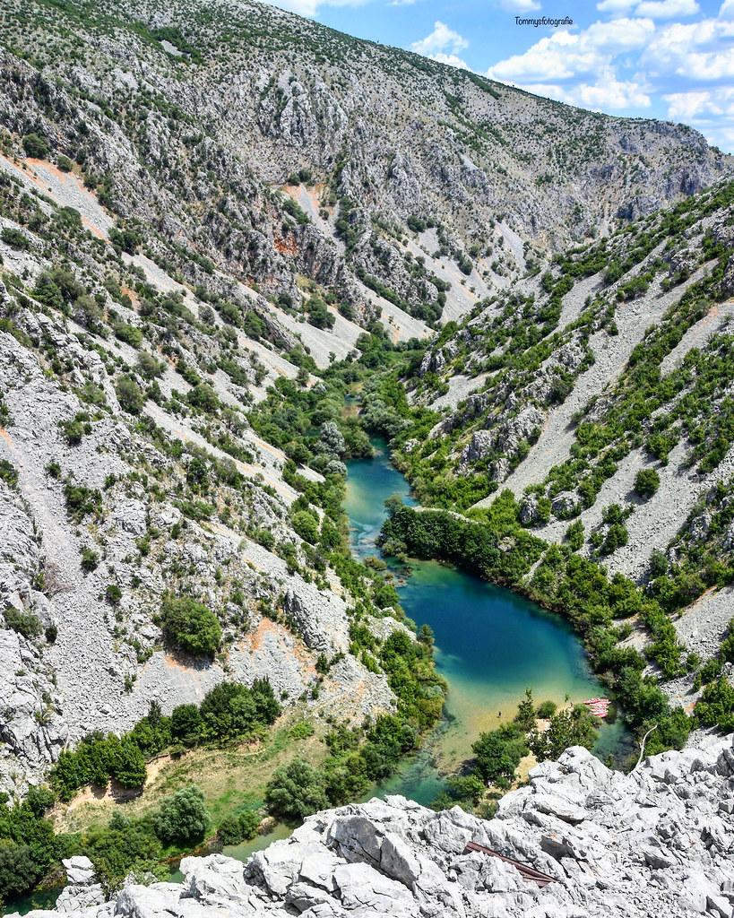 Zrmanja canyon in Croatia, you see the dragoneye?