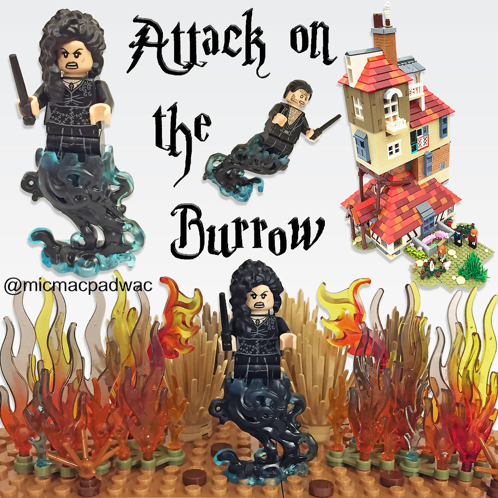 Lego Attack on the Burrow custom