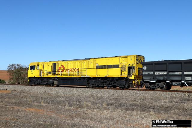 3 May 2020 ACN4151 rear DPU loco 1763 loaded Karara near Bringo