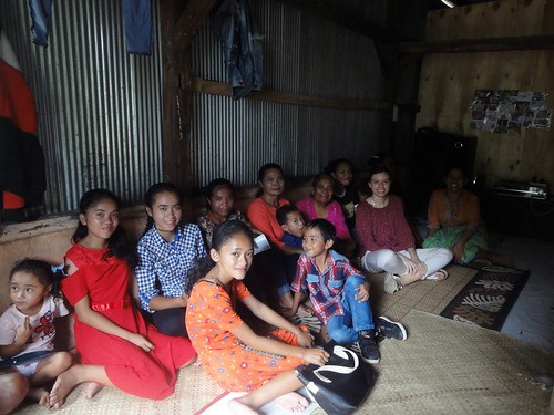Indonézia. na návšteve v rodine