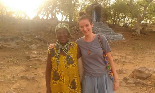 Ghana.návšteva na vidieku