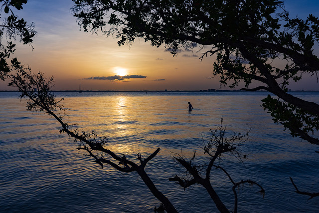 Sunrise on San Carlos Bay