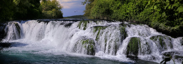 Shiny pearl called Koćuša Waterfall