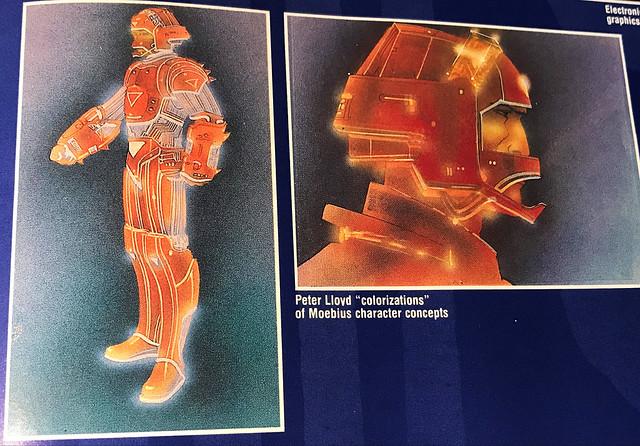 Art of Tron Moebius