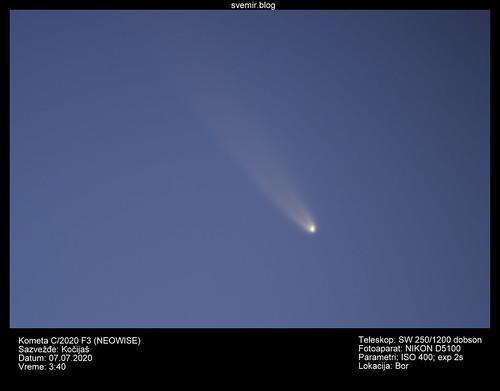 Kometa C/2020 F3 (NEOWISE)