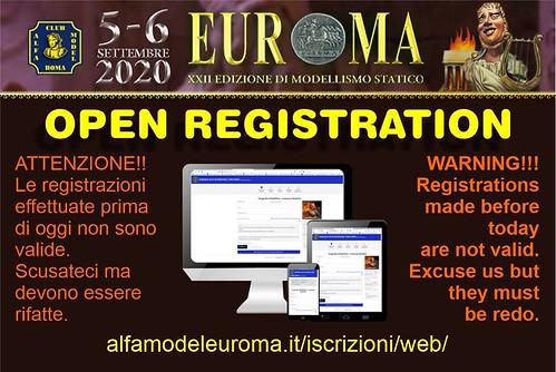 Euroma 2020 . i Concorsi