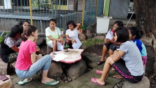 Indonézia. hodina angličtiny