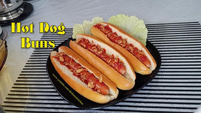 Super Soft Bakery Style Hot Dog Buns at Home / Shobanas Kitchen