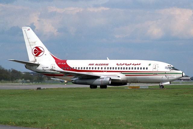 7T-VJA Boeing 737-2T4 Air Algerie