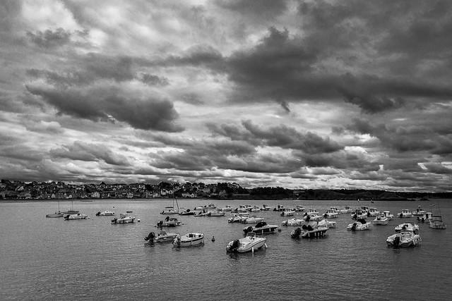nuages à erquy BW (2)