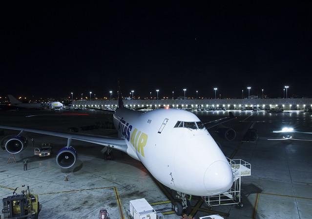 N475MC Boeing 747-47UF Atlas Air Cargo