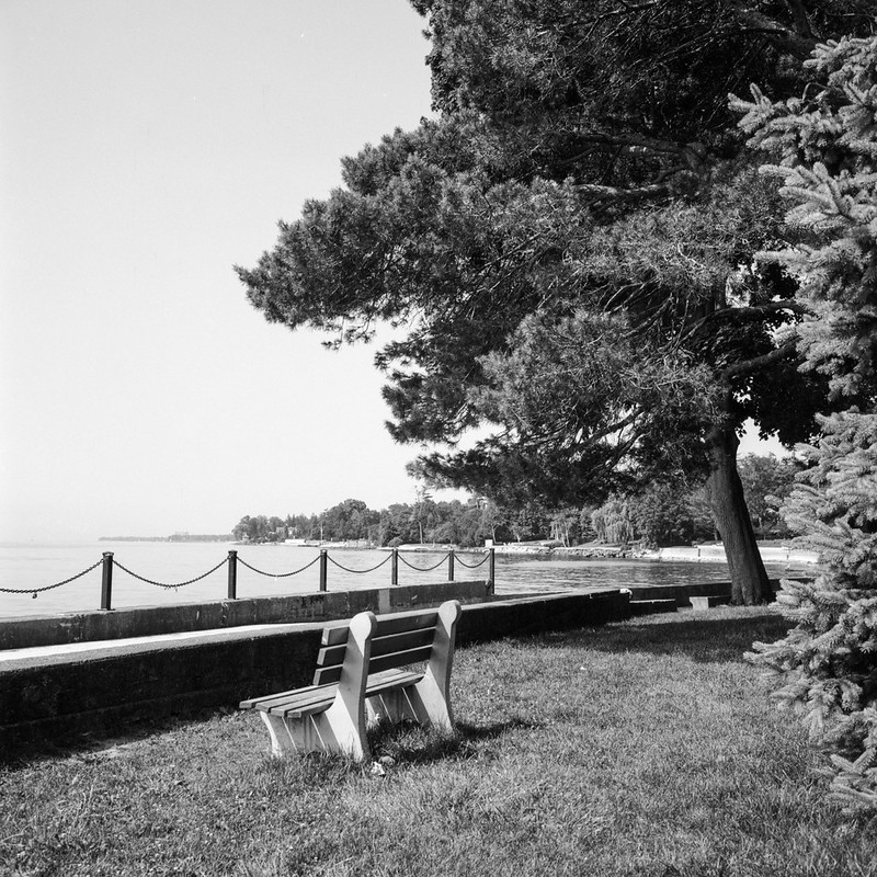 Secluded Bench at Gairloch