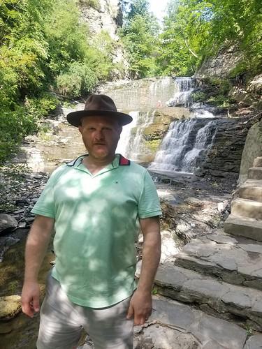 Cascadilla Gorge Trail Waterfall