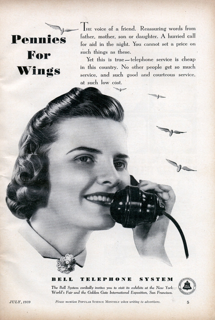 Bell Telephone System 1939