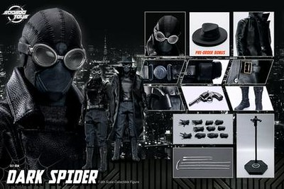 SooSooToys - NEW PRODUCT: Soosootoys: SST018 Dark Spider 1/6 Scale Figure 50091145676_d155667c61_w