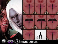 Lined lips by FORMME.